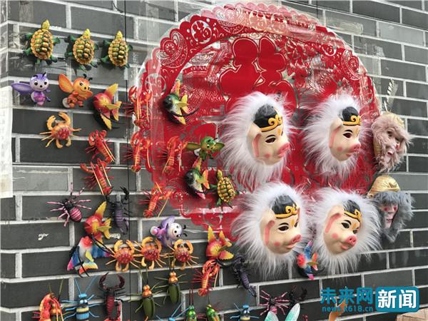 辽宁沈阳:新春祈福皇寺灯会 看关东传统民俗