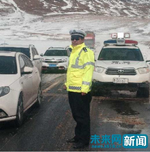 """玉树雪灾国家Ⅳ级救灾应急响应启动 大雪中有一群""""逆行""""的身影"""