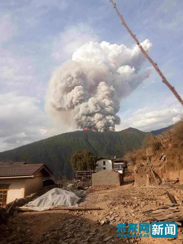 四川凉山森林大火已搜寻到26具遗体 应急管理部 仍在紧张搜救